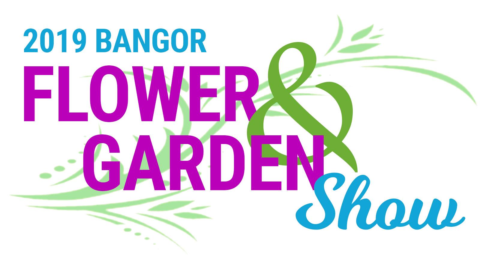 2019 bangor flower and garden show logo graphic
