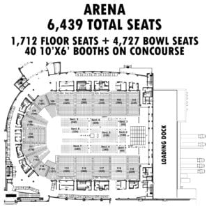 arena floor blueprint design graphic