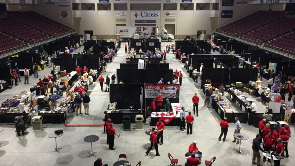 photo of cross insurance center arena during a convention