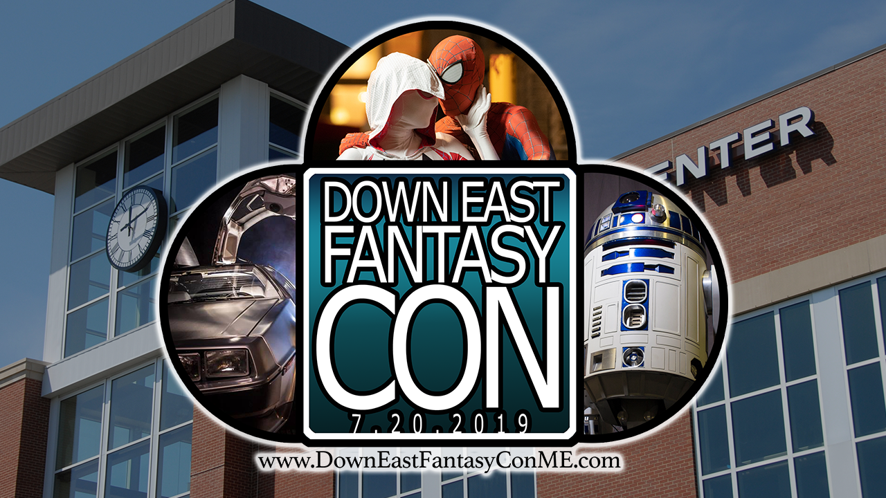 down east fantasy con logo graphic