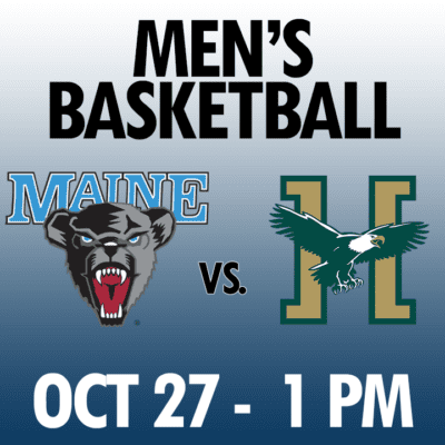 men's basketball maine vs husson oct 27 1pm graphic