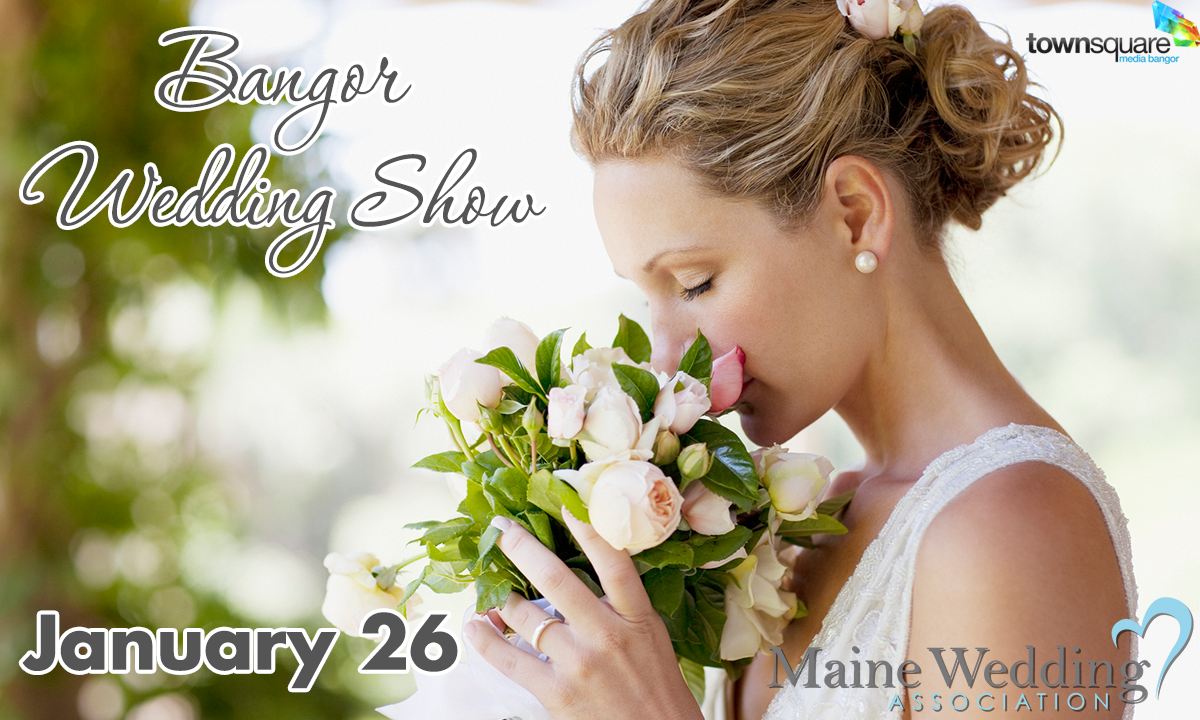 bangor wedding show january 26 maine wedding association graphic