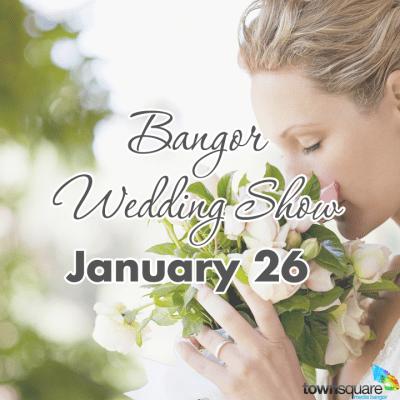 bangor wedding show january 26 graphic
