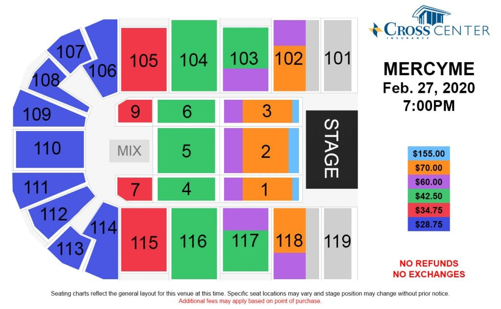 mercyme seat chart graphic